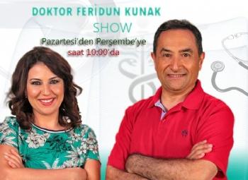 Dr Feridun Kunak Show En İyi Sağlık Programı Ödülü